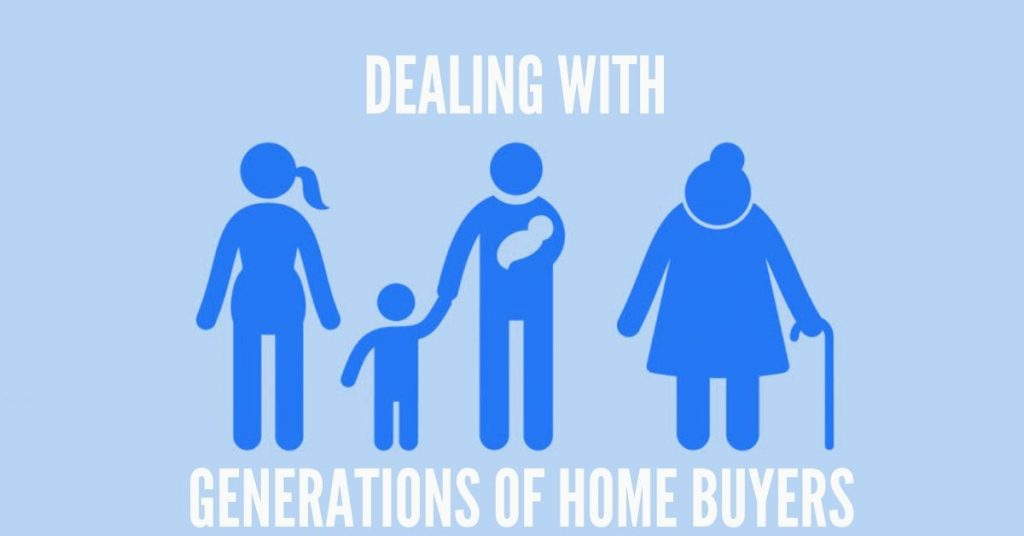 Dealing with generations of homebuyers