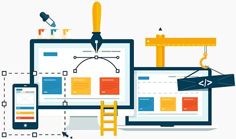 real estate website design process